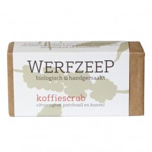 Werfzeep Koffiescrub