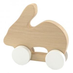 Pinch Toys Houten Duwfiguur Maxi Konijn