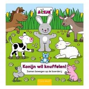 Clavis Zoekboek Konijn wil knuffelen!