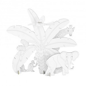 Studio Roof kidsonroof DIY Animal Scenes - Jungle Story