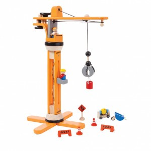 PlanToys Kraan Set