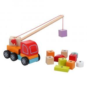 Cubika Houten Speelgoed Kraan