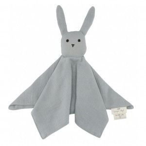 Konges Slojd Knuffeldoekje Sleepy Rabbit French Blue