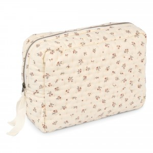 Konges Slojd Quilted Toilettas Big Petit Amour Rose