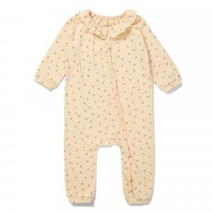 Konges Slojd Chleo Onesie Bloom Red/Blue