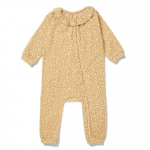 Konges Slojd Chleo Onesie Buttercup Yellow