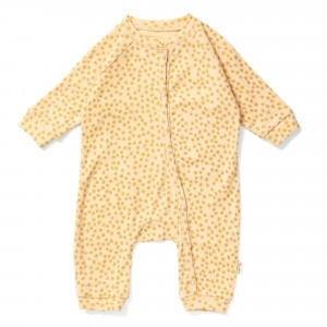 Konges Slojd Manny Onesie Buttercup Yellow