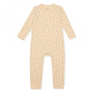 Konges Slojd Basic Onesie Bloom Red/Blue