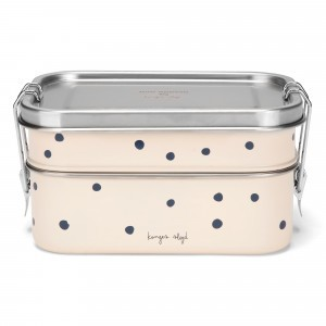 Konges Slojd Lunchbox Ocean Blue Dot