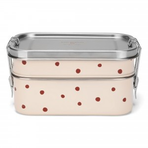 Konges Slojd Lunchbox Raspberry Red Dot