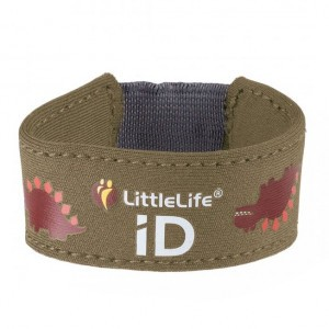 Littlelife Safety ID Armband Dinosauriër