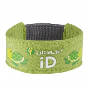 Littlelife Safety ID Armband Schildpad