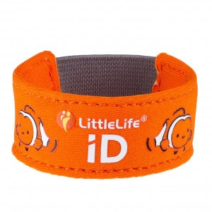 Littlelife Safety ID Armband Clownsvis
