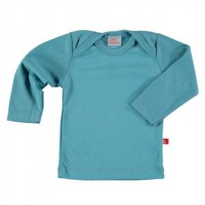 Limobasics T-shirt met lange mouwen Denim Blauw