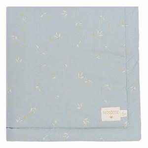 Nobodinoz Laponia Dekentje Mini (70 x 70 cm) Willow Soft Blue
