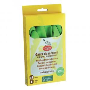 La droguerie écologique Latex Handschoenen Large (1 paar)