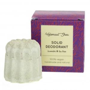 HelemaalShea Solid Deodorant, Lavendel & Tea tree