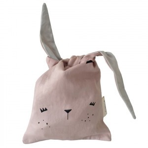Fabelab Lunch Bag Bunny Roze