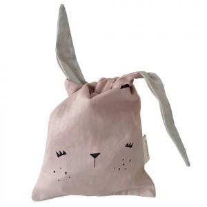 Fabelab Lunch Bag Bunny Roze