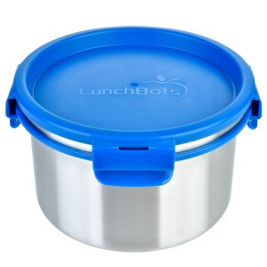 LunchBots Lunchdoos RVS Rond (1500ml)