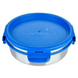 LunchBots Lunchdoos RVS Rond (750ml)