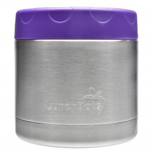 LunchBots Insulated Food Container (470ml) Paars