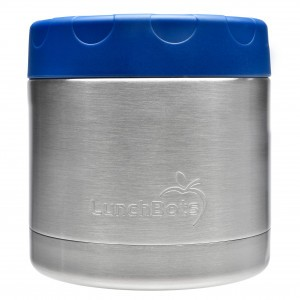 LunchBots Insulated Food Container (470ml) Blauw