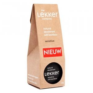 The Lekker Company Deodorant Sensitive Soft Bamboo