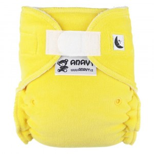 Anavy Nachtluier XL met velcro Lemon (6-18 kg)