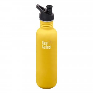 Klean Kanteen Drinkfles Classic Sport Cap (3.0) 798ml Lemon Curry