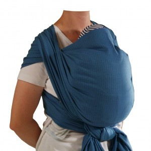 Storchenwiege Baby Sling Leo Turquoise 4,6m