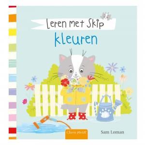 Clavis Leesboekje Leren met Skip 'Kleuren'