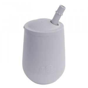 EZPZ Mini Cup + Rietje Licht Grijs