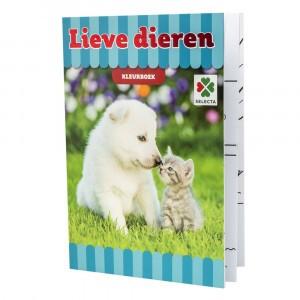 Selecta Kleurboek Lieve Dieren
