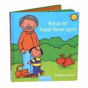 Clavis Leesboekje Anna en haar lieve Opa