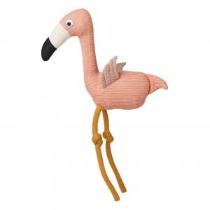 Liewood Gebreide Knuffel Dextor Flamingo Roze