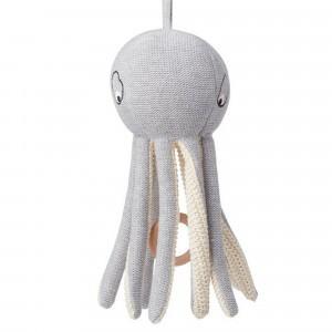 Liewood Muziekmobiel Octopus Grijs
