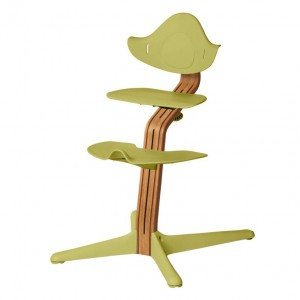 Nomi Highchair Lime / Oiled Oak