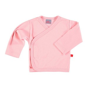 Limobasics Overslag T-shirt met lange mouwen Ballet Roze