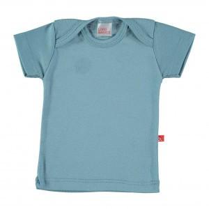 Limobasics T-shirt met korte mouwen Denim Blauw