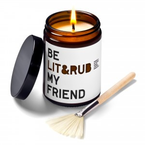 Be Lit & Rub My Friend Massage- en Geurkaars (180 ml)
