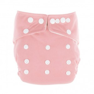 Little Lamb One Size Nappy Roze