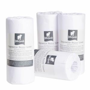 Little Lamb Papieren Inlegvliezen (4 rollen) Voordeelpakket