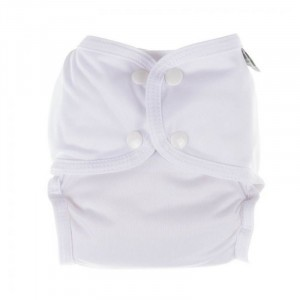 Little Lamb Sized Pocket Nappy Wit maat 2 (9-17 kg)