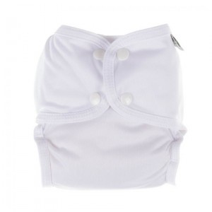 Little Lamb Sized Pocket Nappy Wit maat 1 (3-9 kg)