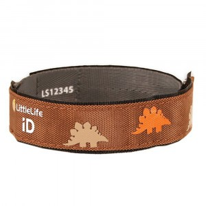 Littlelife Safety ID Strap Dinosauriër
