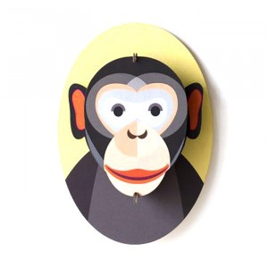 Studio Roof 3D Trophee Little Friends - Monkey