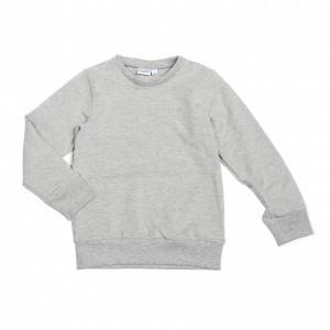 Mundo Melocoton T-shirt met lange mouwen Organic Grijs Melee Kids