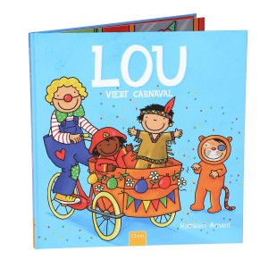 Clavis Leesboekje Lou viert carnaval