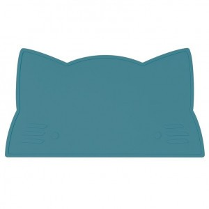 We Might Be Tiny Placemat Kat - Schemer Blauw